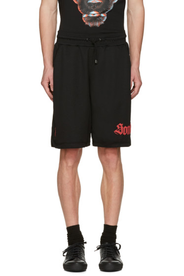 Marcelo Burlon County of Milan - Black Santos Shorts
