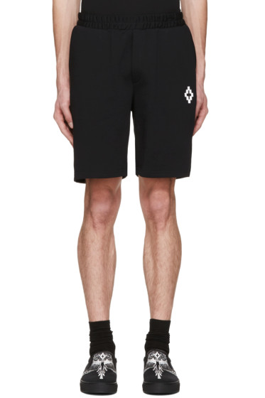 Marcelo Burlon County of Milan - Black Paco Shorts
