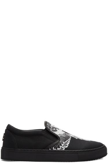 Marcelo Burlon County of Milan - Black Azelia Slip-On Sneakers