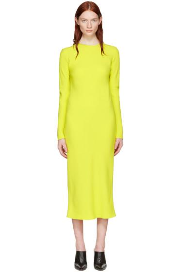 Haider Ackermann - Yellow Bias Dress