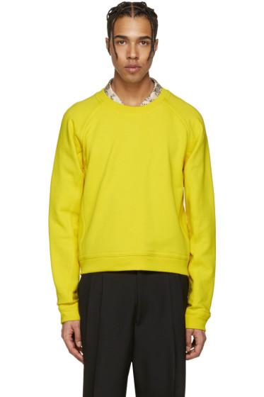 Haider Ackermann - Yellow Short Pullover