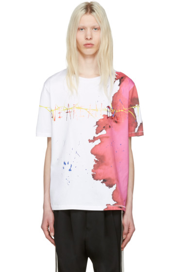 Haider Ackermann - Ivory 'We Are All Dust' T-Shirt