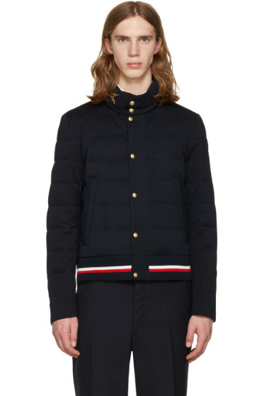 Moncler Gamme Bleu - Navy Down Quilted Jacket
