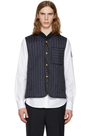 Moncler Gamme Bleu - Navy Quilted Down Vest
