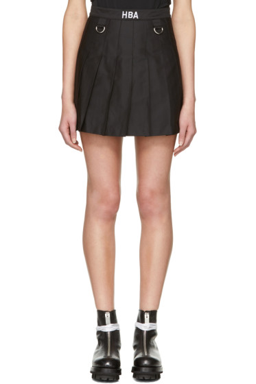 Hood by Air - Black Schoolgirl Miniskirt