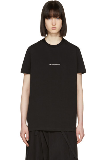 Hood by Air - Black '2007' T-Shirt