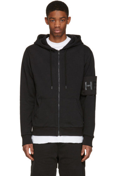 Hood by Air - Black Cult Hoodie