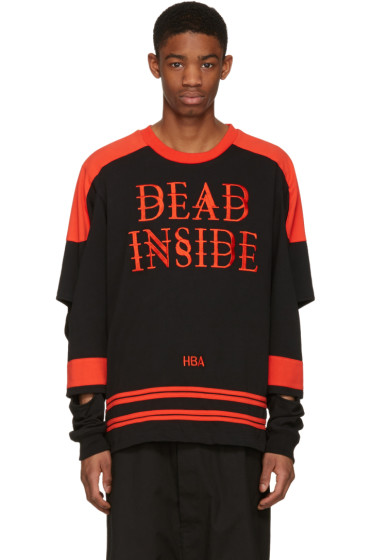 Hood by Air - Black 'Dead Inside' Pullover