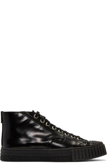 Adieu - Black Type W.O. High-Top Sneakers