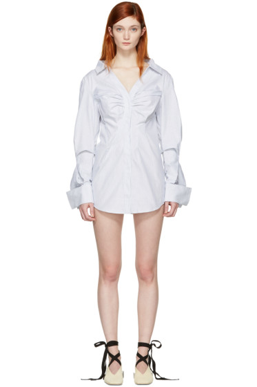 Jacquemus - Blue 'La Robe Beauduc' Dress