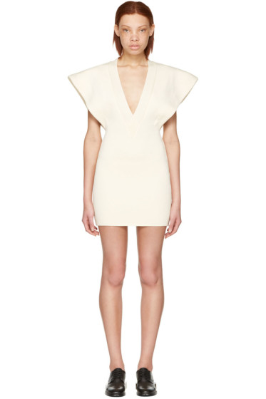 Jacquemus - Ecru 'La Longue Carmague' Dress
