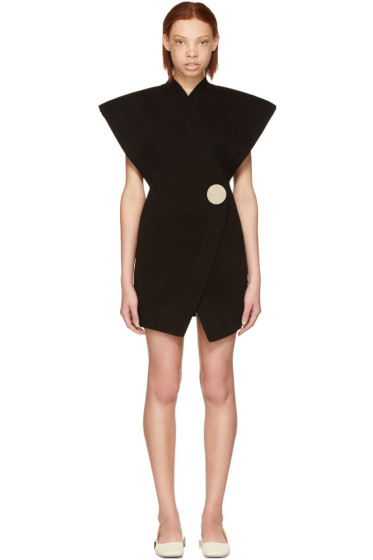 Jacquemus - Black 'Le Long Cardigan' Dress