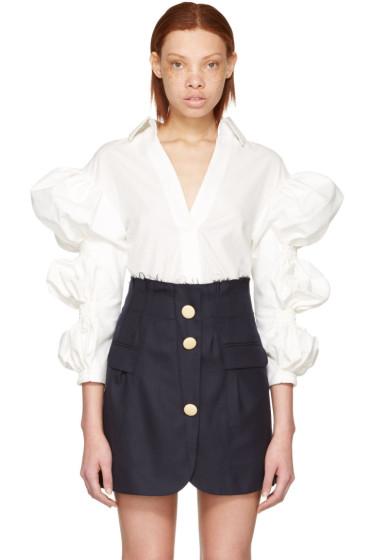 Jacquemus - Ecru 'La Chemise Santon' Shirt