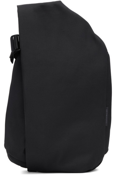 Côte & Ciel - Black Medium Isar Eco Yarn Backpack