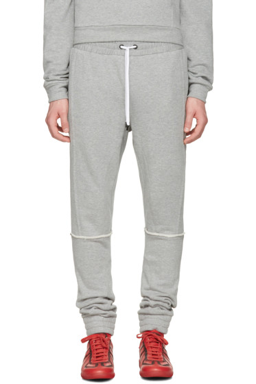 Pyer Moss - Grey Tattered Lounge Pants