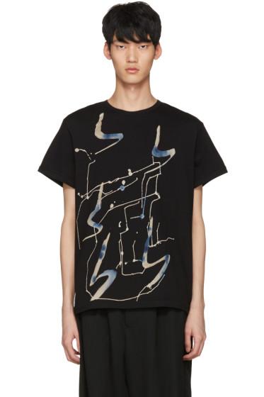 Yohji Yamamoto - Black Art Print T-Shirt