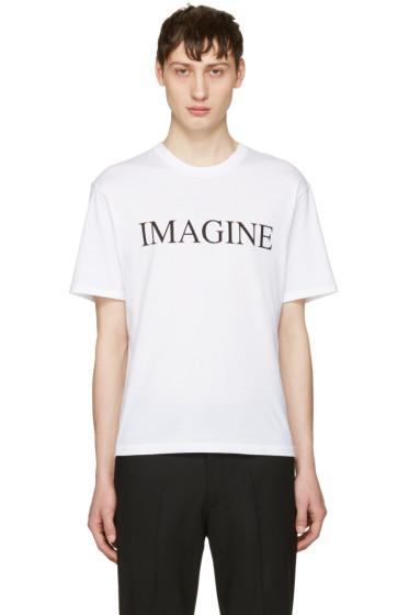 Christian Dada - ホワイト Imagine T シャツ