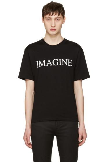 Christian Dada - ブラック Imagine T シャツ