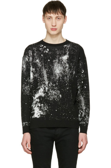 Lad Musician - Black High Gauze Pullover