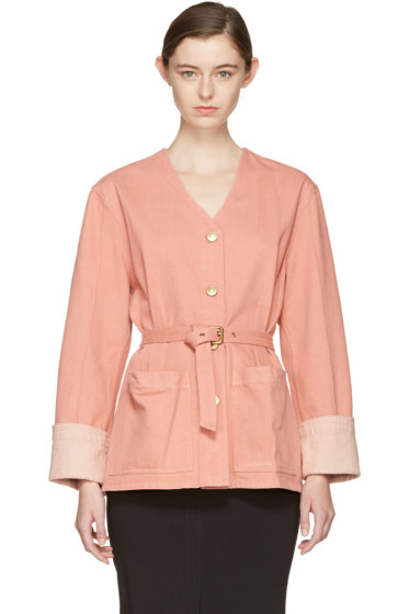 Isabel Marant - Pink Denim Estil Jacket