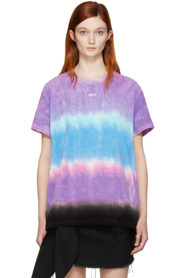 Off-White - Multicolor Tie-Dye Towel T-Shirt