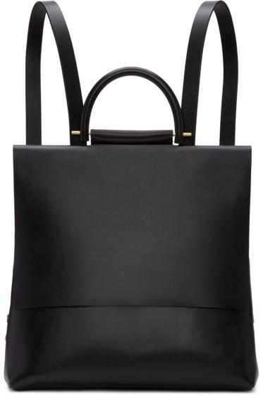 Building Block - Black Mini Rucksack