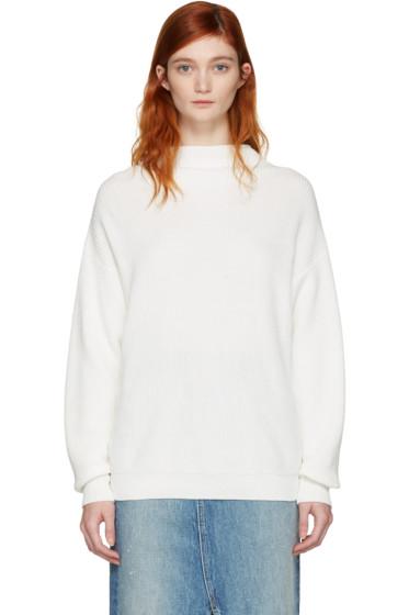 Won Hundred - White Catharine Sweater