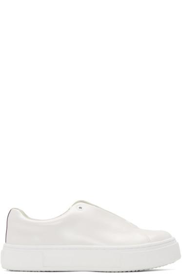 Eytys - Off-White Leather Doja Sneakers
