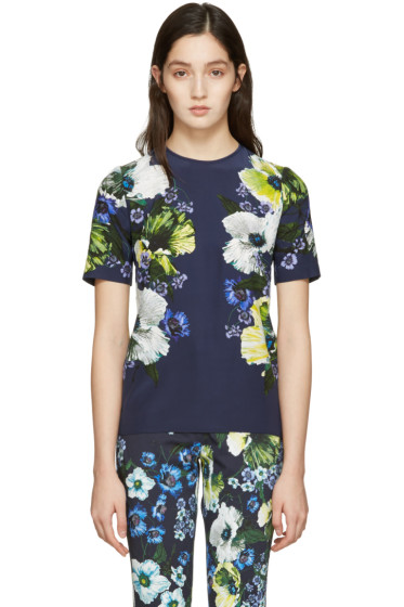 Erdem - Navy Armilla T-Shirt