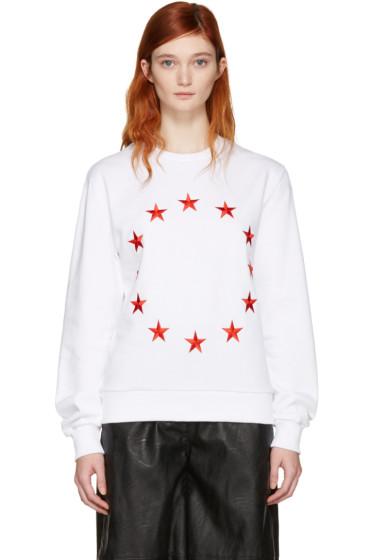 Etudes - SSENSE Exclusive White Étoile Europa Sweatshirt