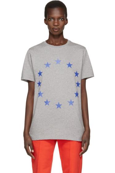 Etudes - Grey Europa Stars T-Shirt