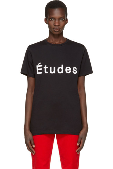 Etudes - Black Page Logo T-Shirt