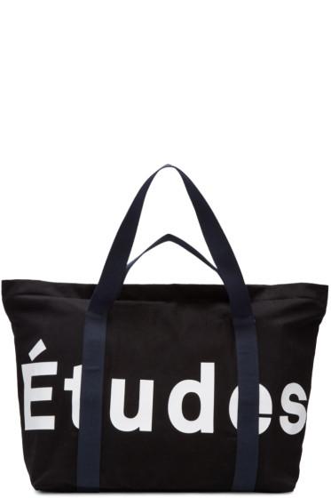 Etudes - ブラック メイ トート