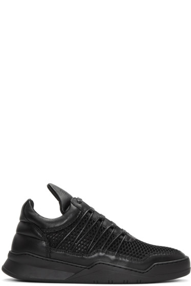 Filling Pieces - Black Cane Ghost Sneakers