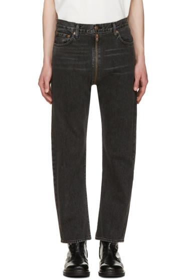 Vetements - Black Levi's Edition Zip Around Jeans