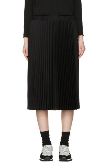 Comme des Garçons Girl - Black Wool Pleated Skirt