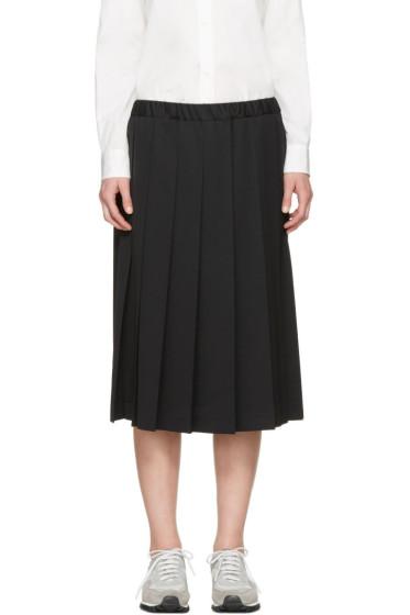 Comme des Garçons Girl - Black Pleated Skirt