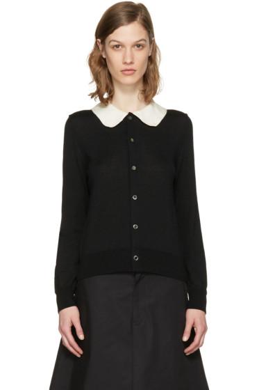 Comme des Garçons Girl - Black Crochet Collar Cardigan