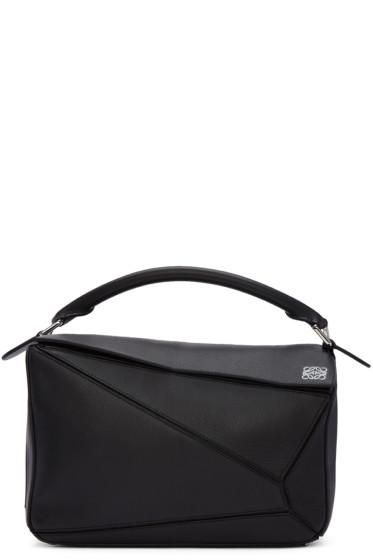 Loewe - Black Puzzle Bag