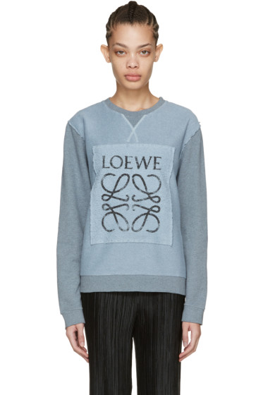 Loewe - Blue Logo Pullover