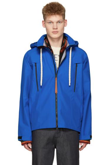 Loewe - Blue Gore-Tex Hooded Jacket