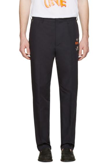 Toga Virilis - Navy Stud Trousers