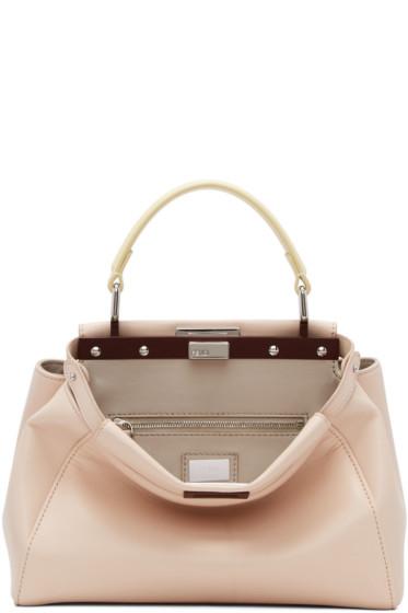 Fendi - Pink Mini Peekaboo Bag
