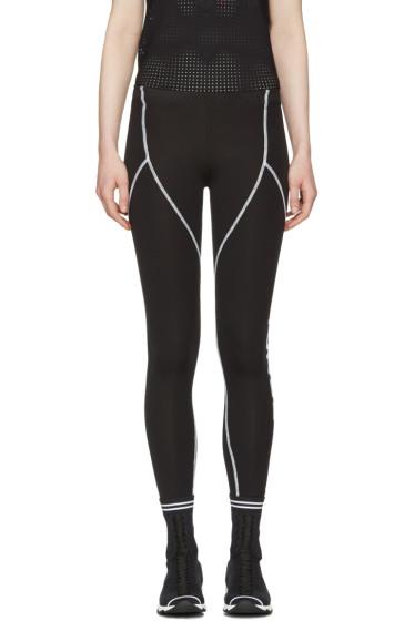 Fendi - Black Yoga Leggings