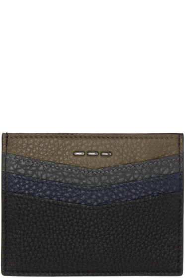 Fendi - Black Leather Card Holder