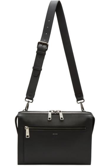 Fendi - Black Document Holder Bag