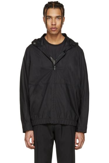 Fendi - Black 'Fendi Bubble' Jacket