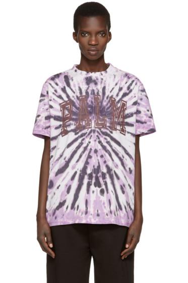 Palm Angels - Purple Tie-Dye T-Shirt