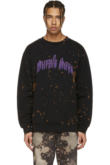 Palm Angels - Black Purple Haze Pullover