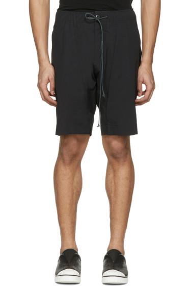 Attachment - Black Slim Shorts